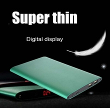High Capacity super slim Power Bank 20000mAh With LED Torch for iPhone6 iPad Galaxy Note 3 Blackberry