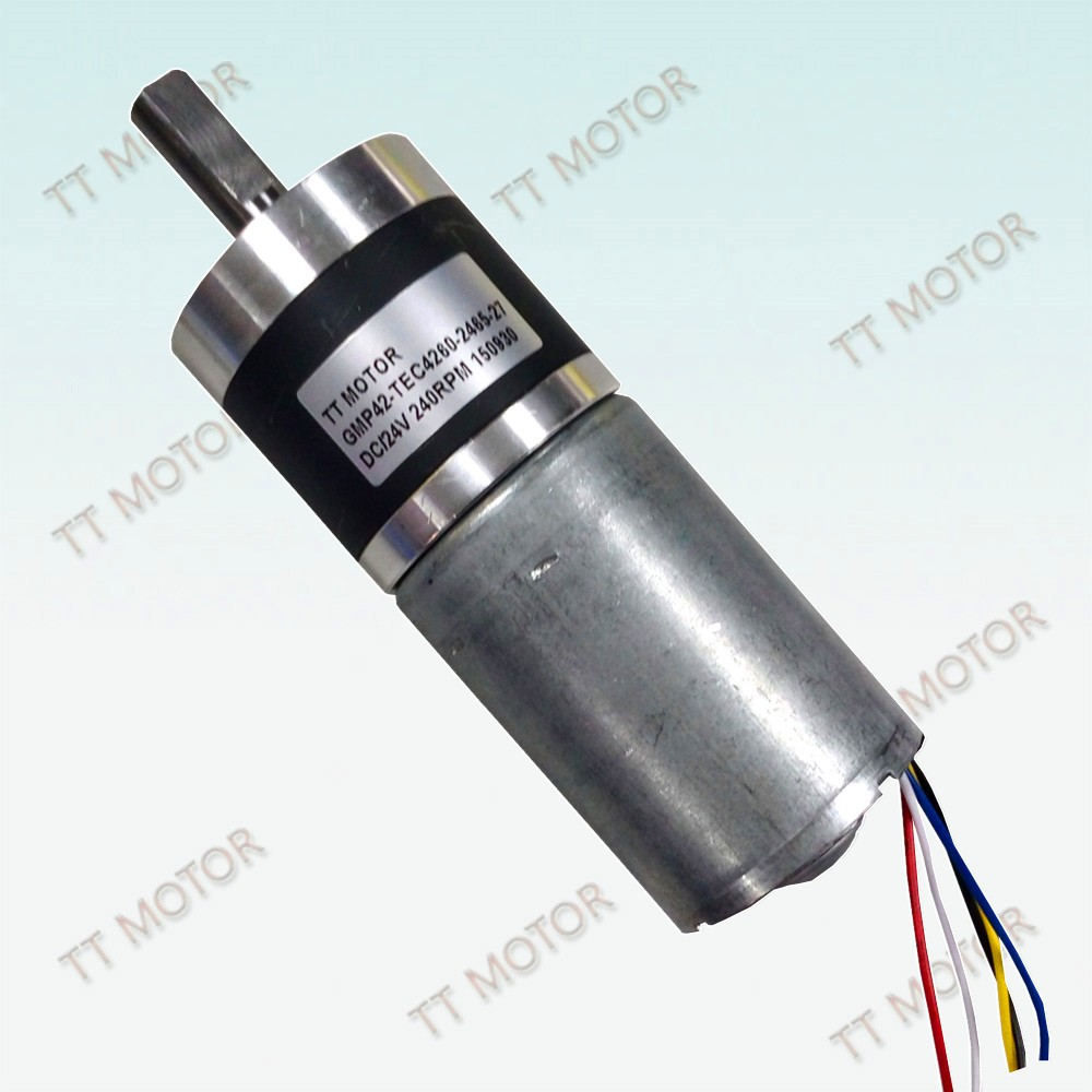 100 watt dc brushless gear motor with planetary gearbox