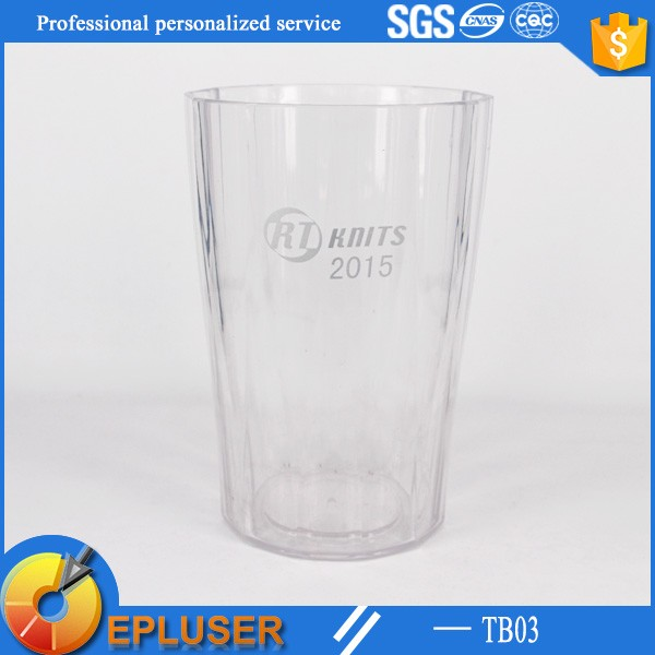 Hot sale! single wall acrylic plastic tumbler cup