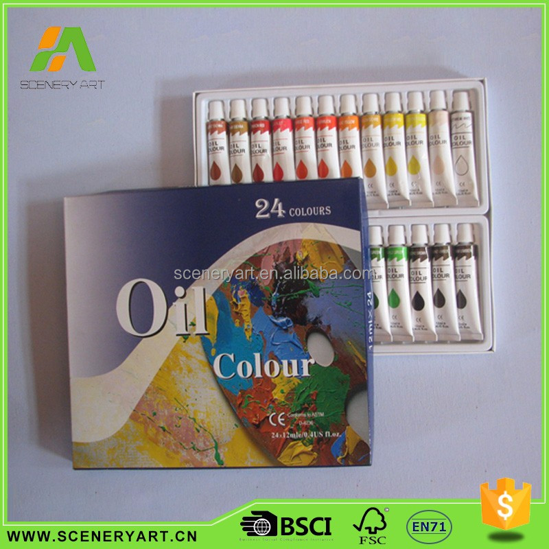 China manufacturer Creative Design oil paint sets by number