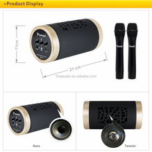 BT portable speaker sound box karaoke
