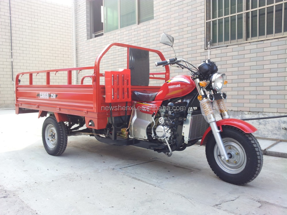 2016 cheap heavy load cargo truck Chinese Three Wheel Motorcycle