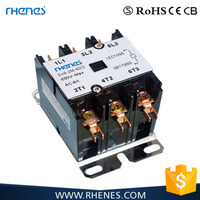 Electrical 40A 240V types of air conditioning magnetic contactor