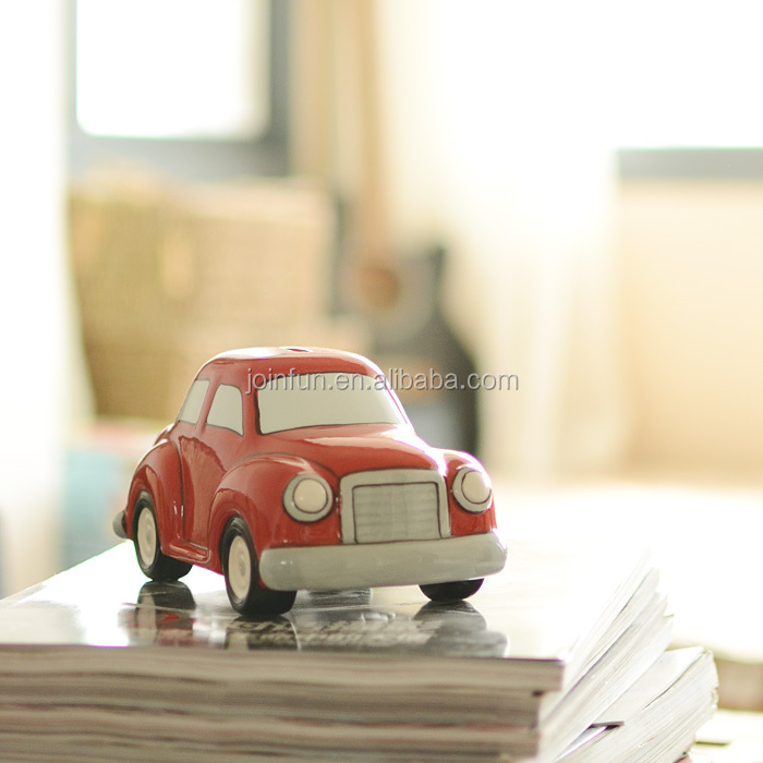 Plastic red car for children OEM plastic vinyl/PVC car toy Custom plastic car toys