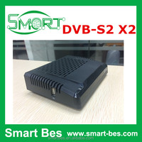 Smart Bes Newest digital satellite receiver ,MINI DVB-S2 satellite receiver model X2 support full hd 1080p