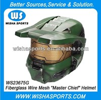 "Protection Fiberglass Safety Airsoft Halo 4 ""Master Chief"" Helmet"