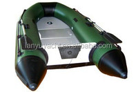 CE LY-360 aluminum floor Military inflatable boat