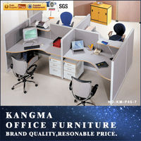 Ordinary design used office wall partitions KM-P45-7