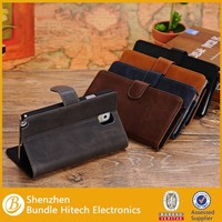 leather portfolio case for samsung galaxy note 3, custom case for samsung galaxy note 3