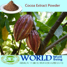 Factory Hot Selling Low Price Organic 10%-20% Theobromine Cocoa Extract Powder,Cocoa Bean Extract Powder, Natural Cocoa Powder