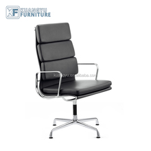 Charles&Ray Type Conference room chairs,High back soft pad four leg office Chair,Aluminum management chair
