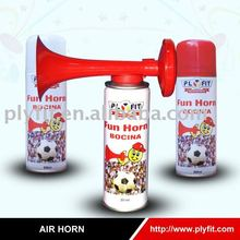 aerosol gas air horn marine and sports use