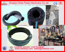 rubber plastic compounding porous irrigation pipe producing line