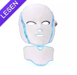Beauty Salon Use Photon Therapy 7 Color Led Light Facial Mask