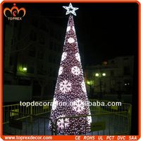 PVC Lighted artificial christmas tree parts