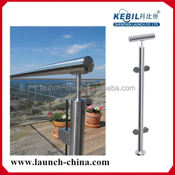 balcony stainless steel railing design, Australian pillar project