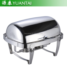 high quality stainless steel chafing dish food warmer buffet stove for hotel