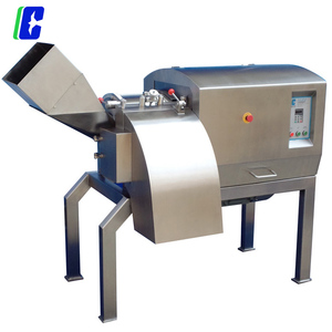 big efficiency meat cutting machine for frozen meat and fresh meat price from China factory
