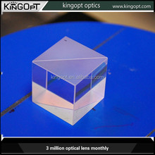 polarization beam splitter optical glass prism for sale