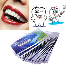 2015 new product easy white teeth whitening strips dental teeth whitening foam strips take use bleaching teeth system