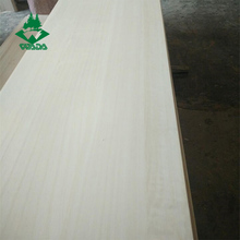 Edge glued board paulownia timber prices