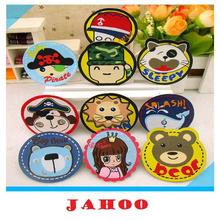 Cute Woven Cartoon Patch Labels For Kids