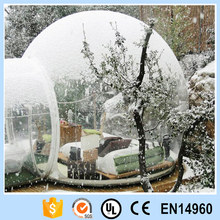 Inflatable transparent bubble tent/Clear Bubble Tent/PVC Inflatable Yard Tent