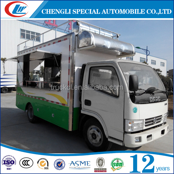 2016 Hot Sale custom mobile mini food truck for sale fried food ice cream