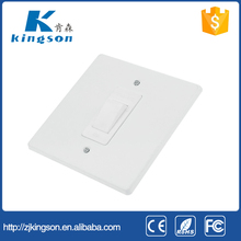 South africa type 10A 250V 1 gang 2 way wall switch