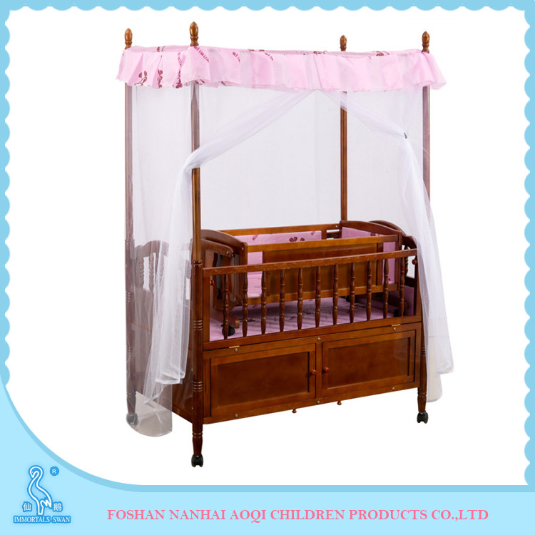 Multi-Purpose Natural Solid Wood Baby Picture Dimensions Kid Bed