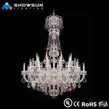 Guzhen candlelight LED turkish cristal chandelier