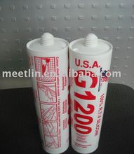G1200 neutral silicone is a one-componet, fast curing silicone sealant for building finishing/renovation silicone sealant 1200