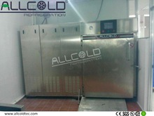 2 trolley 200KG per cycle bread fast cooling machine/water cooling food preservation equipment/baked food vacuum cooler