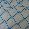 Hot Dipped Galvanized PVC Coated White Black Green Aluminum Chain Link Fence