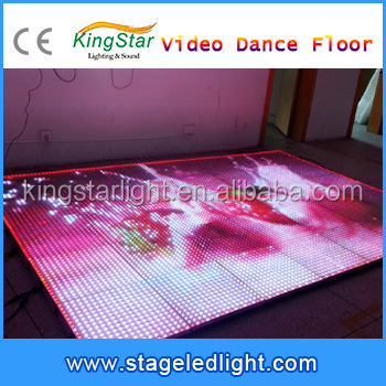 2016 Outdoor LED advertising display screen For Wedding photo 3D Effect Christmas Decorative Disco Party Video Dance Floor Light