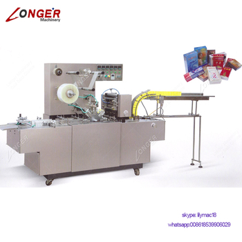 Fully Automatic 3D Bar Soap Bopp Film Overwrap Wrapping Wrapper Packaging Equipment Automatic Box Cellophane Packing Machine