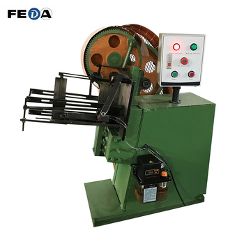 Vertical thread rolling machine automatic thread rod making machine for making M8 bolts