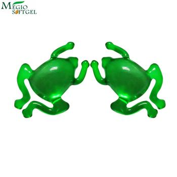 Frog form dosage capsules bath oil beads