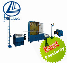 Suzhou Intermediate or Medium Copper Wire Drawing Machine With Annealer for cable manufacturing wire pulling machine
