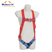 Red/Blue Safety Harness CE EN 361