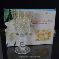 2014 new design cheap goblet wine glass cup