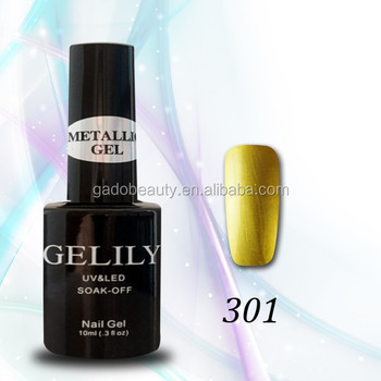 30 colors three Step gel metallic Uv gel nail polish