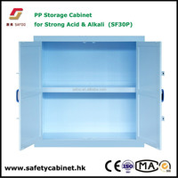 Phenol highly aggressive liquids safety storage poly cabinet