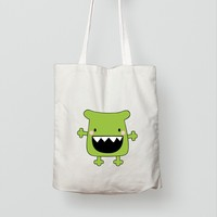 Customized Digitally Printed Halloween Bag/ Durable Cotton Large Size Shopping Bag