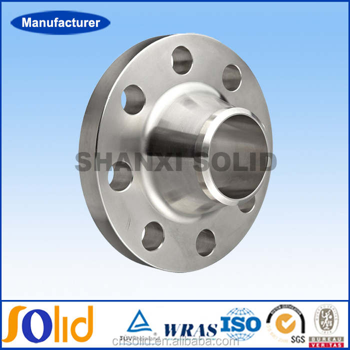 ANSI B16.5 150LBS Weld Neck reducing carbon steel pipe flanges