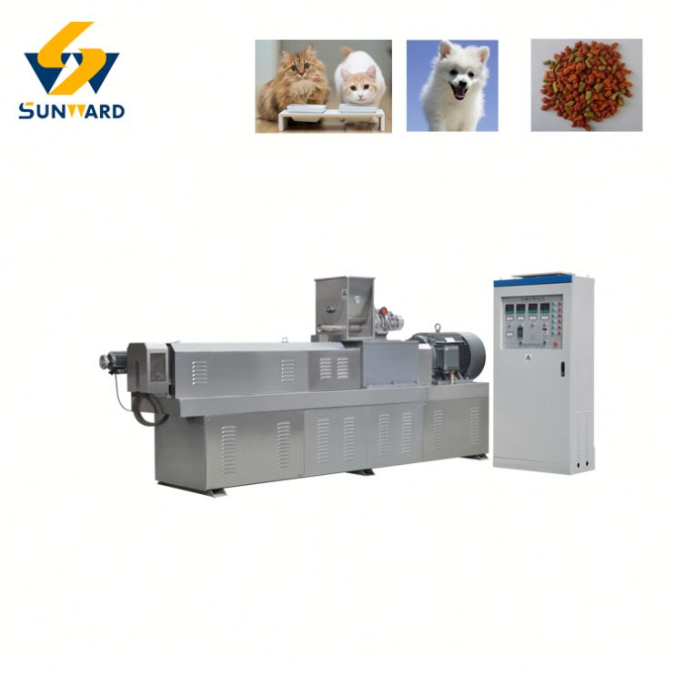 Pet food processing machines floating fishing feed pellet extruder