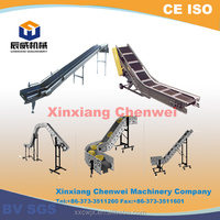 CE,BV ISO certificated obtained the customer high praise curved belt conveyor