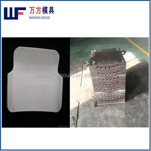 China taizhou supply body armor back plate mould