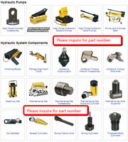 ENERPAC Pump and Cylinder Sets Hydraulic System Components Cribbing Blocks Flange Alignment Tools Hydraulic Accumulator