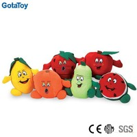 Custom made soft toy fruit soft toy doll